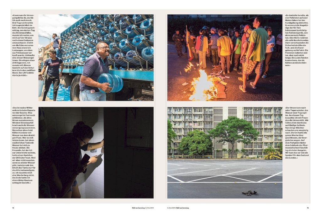 Neue Züricher Zeitung am Sonntag Venezuela Thomas Wagner Stromausfall