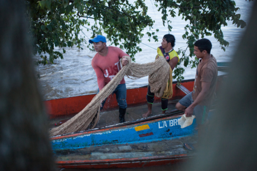 Most canoeros in Arauca are also fishermen.
