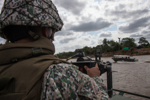 "The canoeros fear more the Venezuelan than the Colombian navy. ""When Colombians capture you, they give you the boat back in three days. The Venezuelans put you in prison and ask you for a bribe"", said a canoero."