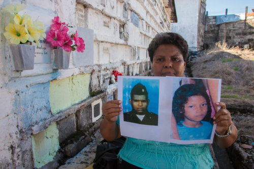 Blanca Nuri Bustamante lost two of her seven children in middle of the violent conflict in Colombia.