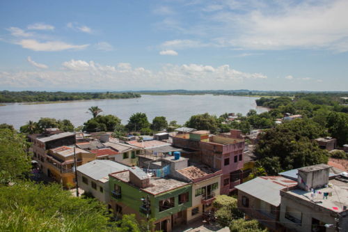 For decades, the Colombian village Puerto Berrio has revered the nameless corpses found floating in the Magdalena River.