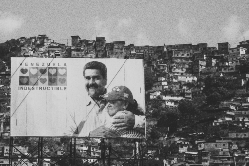 """""""Venezuela is indestructible"""", said this poster on a motorway in Caracas that showed President Nicolás Maduro and his wife. To millions of Venezuelans this slogan must feel like a bad joke. Corruption, extrajudicial executions, inflation, malnourishment and epidemics have spread during Maduro´s presidency. More than three million Venezuelans have left their country."""
