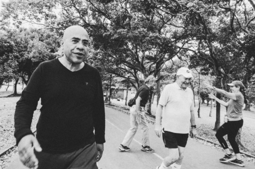 Each morning, Villegas went walking in the Central Park of Caracas. He intends to stay. He had a profession in Venezuela, he said, a role. People like him, moderate oppositionists, were the majority in Venezuela, he said.